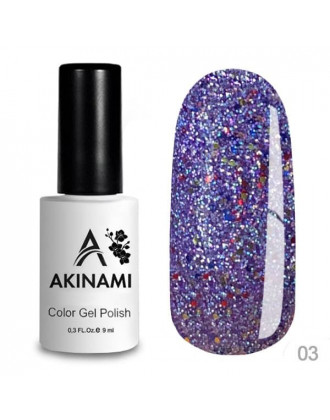 Гель-лак AKINAMI Color Gel Polish - Disco 03