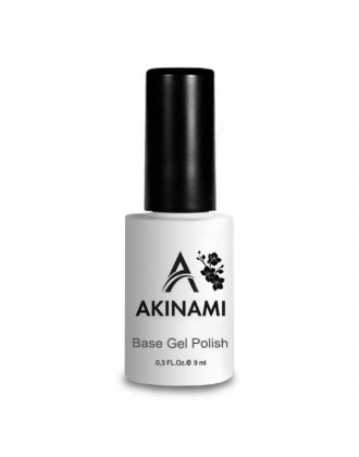 Akinami, База каучуковая, Rubber Base Coat, 9 мл