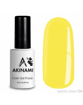 Akinami, Гель-лак Exotic Fruit №04