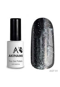 Akinami Glitter Top Gel 01