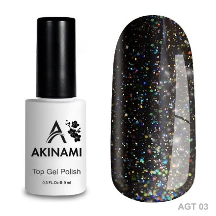 Akinami Glitter Top Gel 03