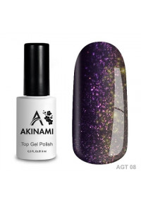 Akinami Glitter Top Gel 08