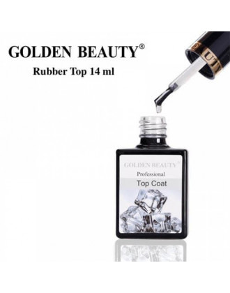 Топ Каучуковый Golden Beauty, Rubber Top Coat (финиш) 14 мл