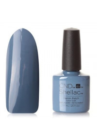 CND Shellac цвет Denim Patch 7,3 мл Дымчато-синий