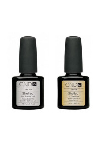 CND Shellac Top/Base, Набор База и Топ СНД 7.3 мл.